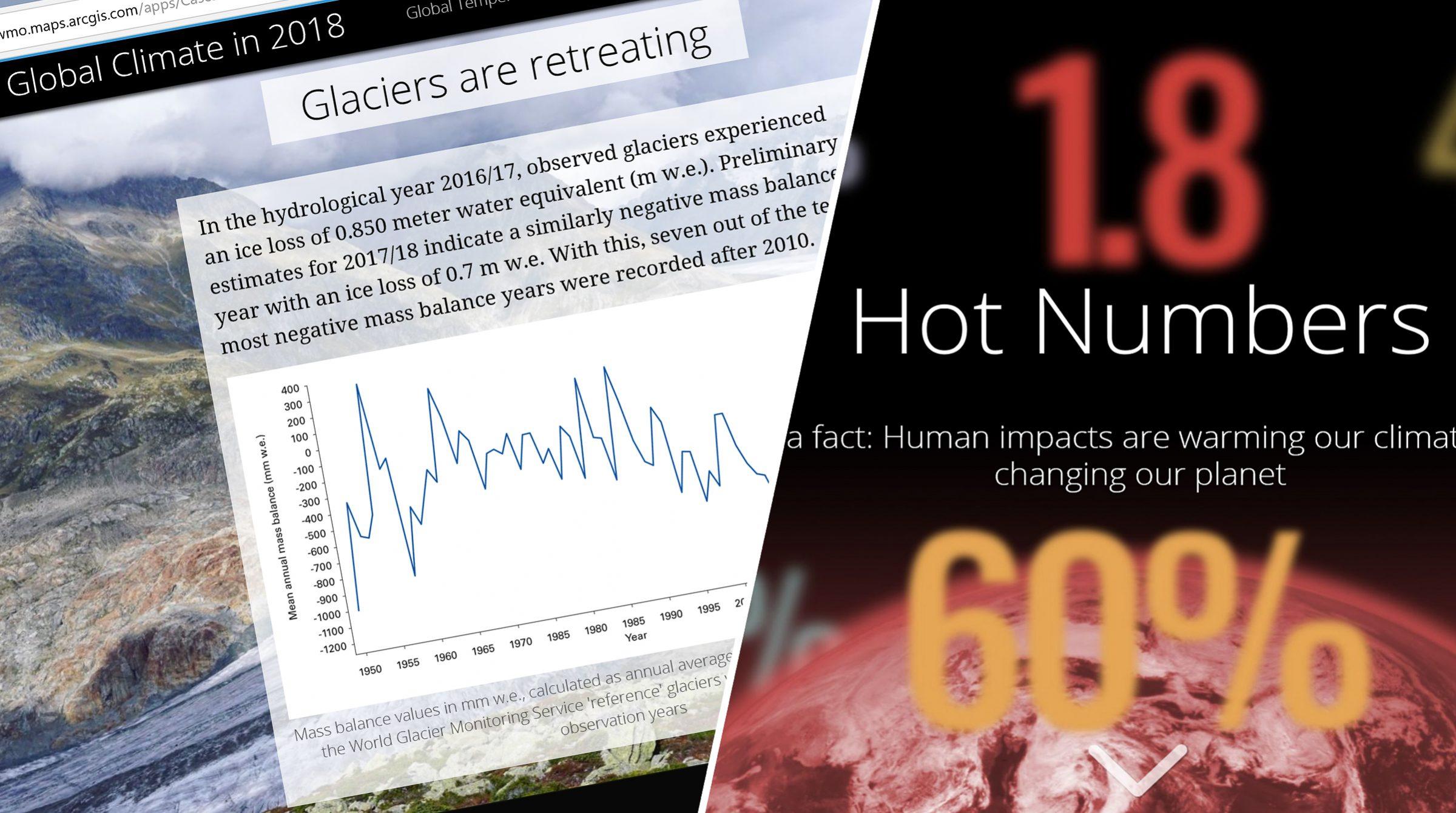 Klimatförändringar i Story Maps