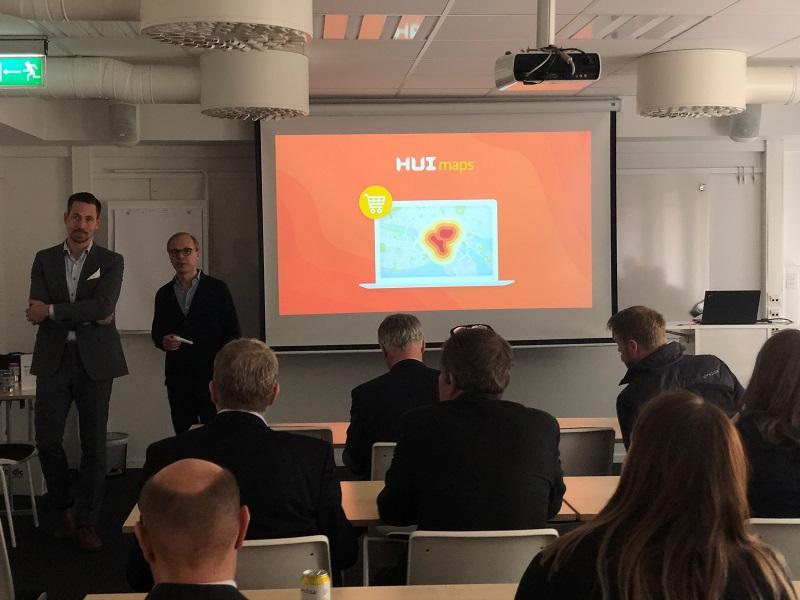 Presentation vid lansering av HUI Maps