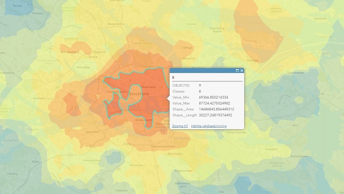 Projektutveckling visualisering av kvadratmeterpriser