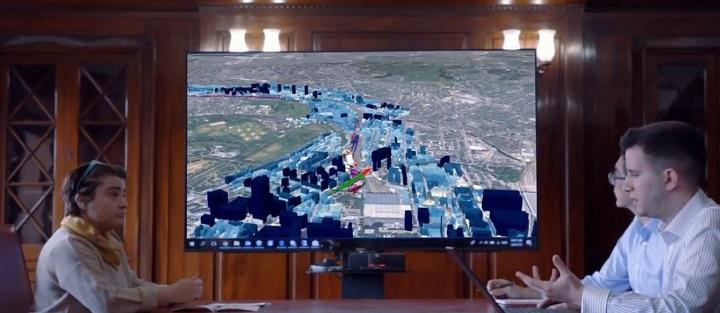 Möte kring 3D-GIS