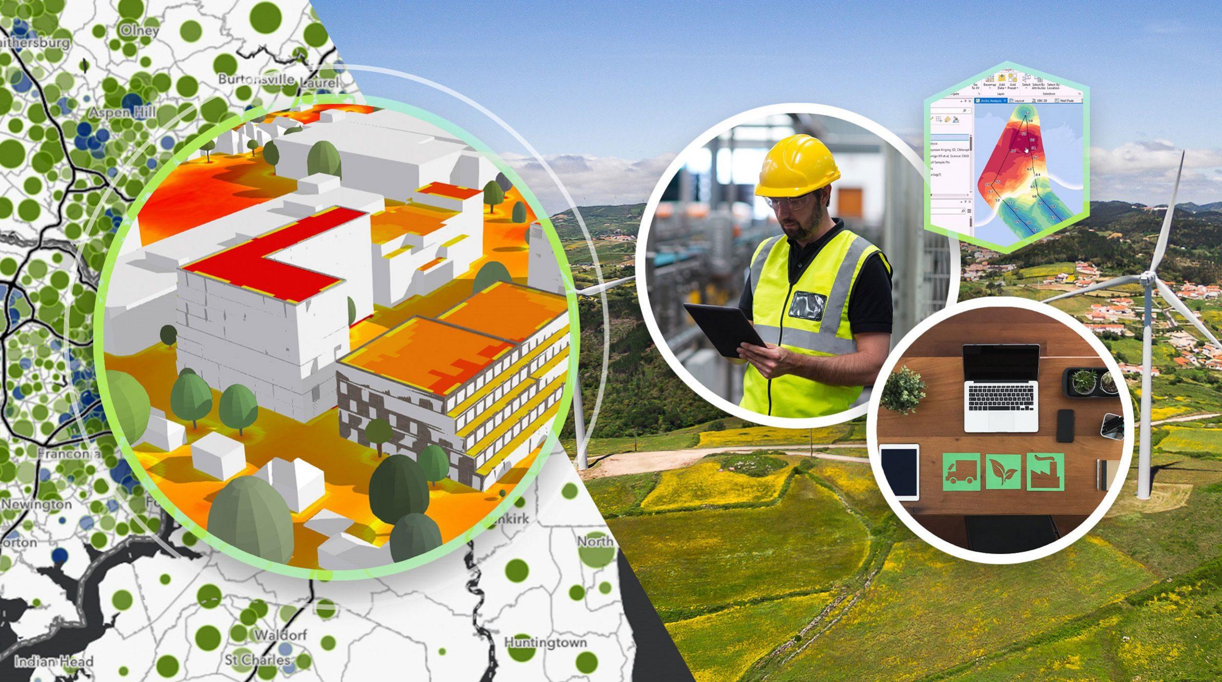 Miljövinster med GIS