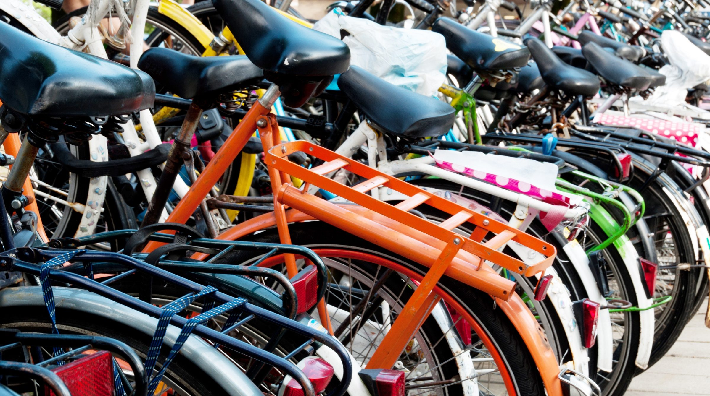 Cyklar i Amsterdam