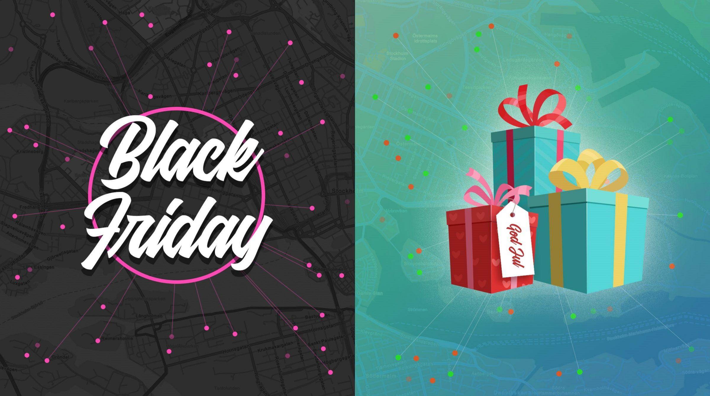 Logistik för black friday och julhandel