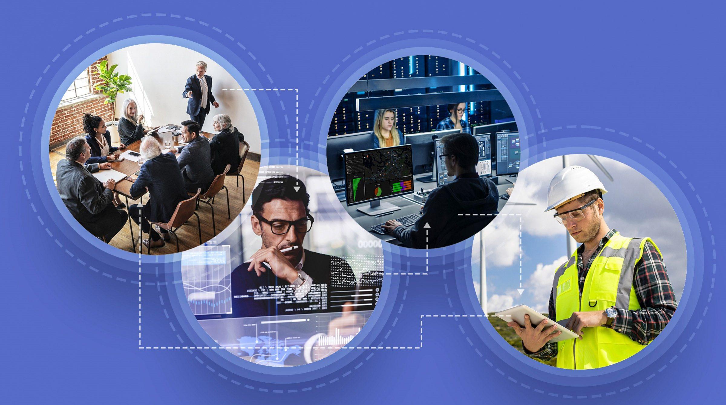 Samverkan med digital tvilling i hela organisationen