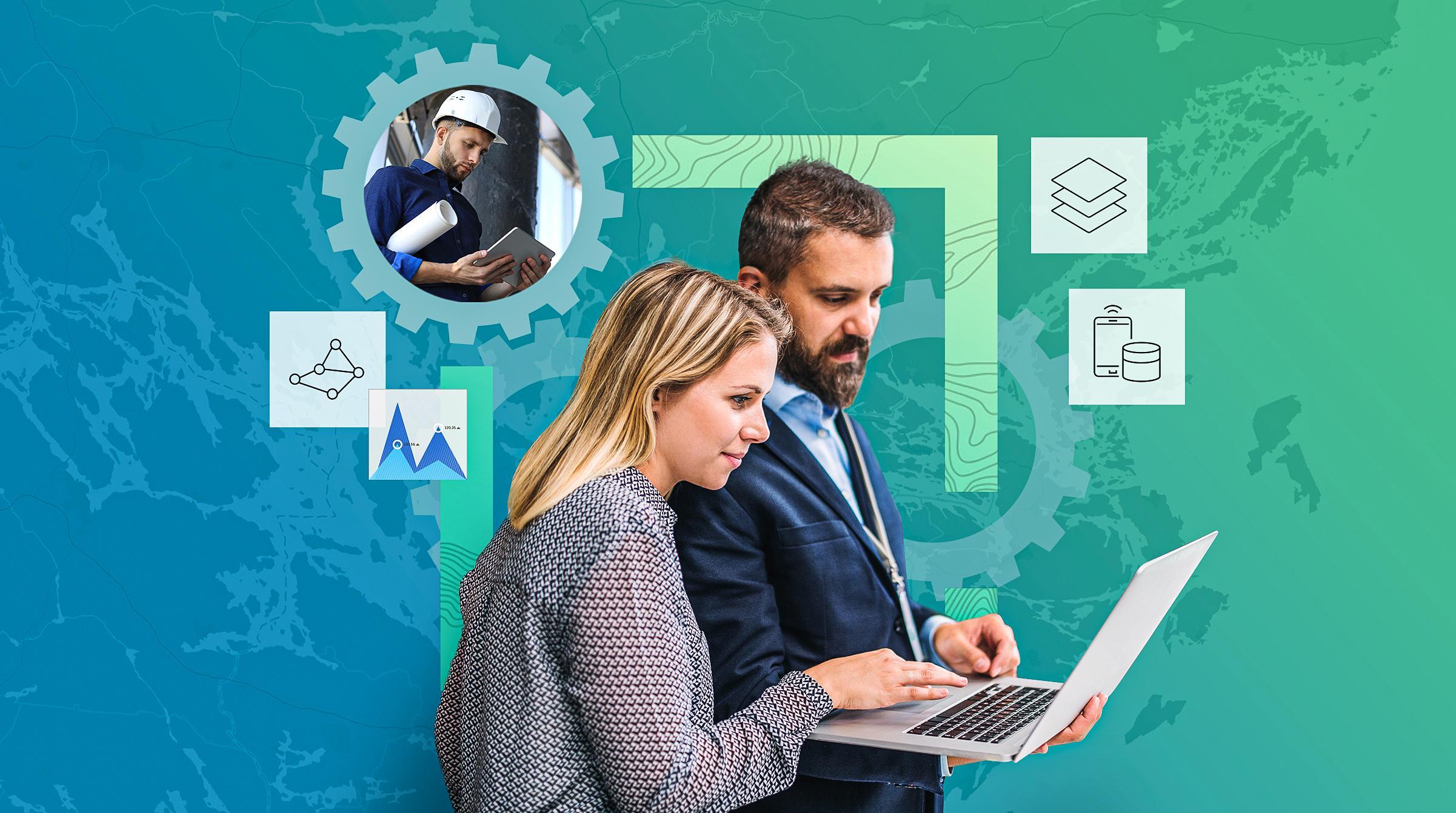 Personal på kontor och i fält drar nytta av plattform för datahantering